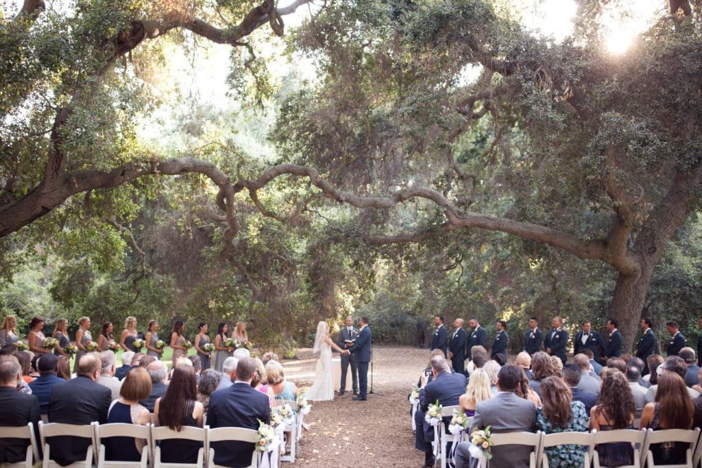 Descanso Gardens Summer Wedding
