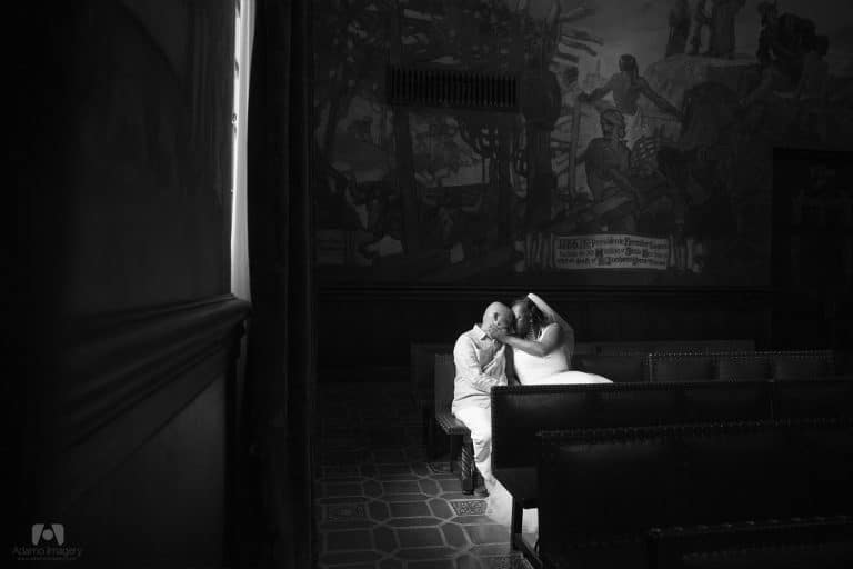 Joseph & Veronica | Santa Barbara Courthouse Mural Room Wedding