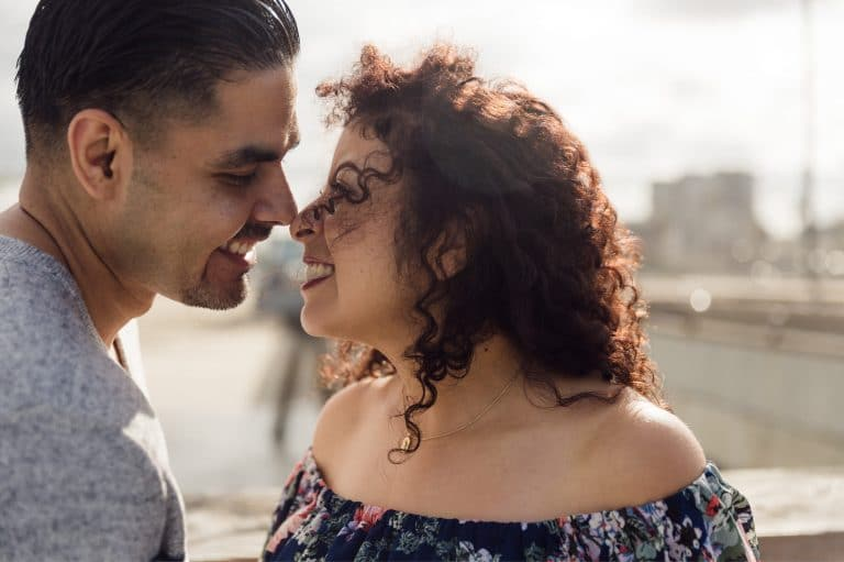 Miguel & Brigitte's Engagement Session | Venice Beach