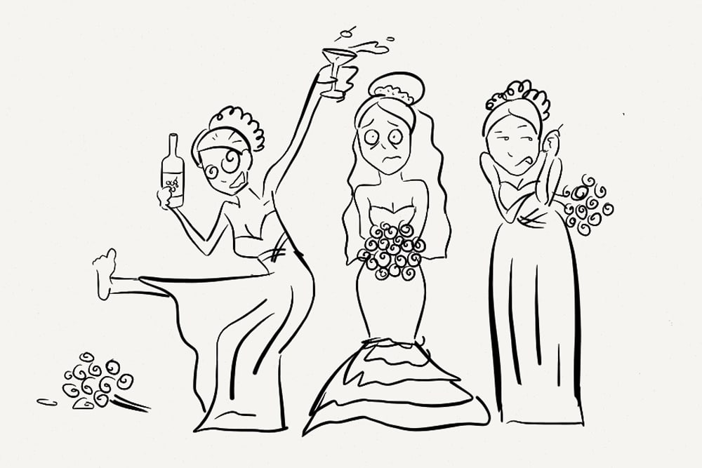 How to pick bridesmaids